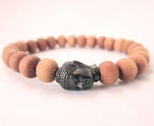 Sandalwood Buddha Bracelet